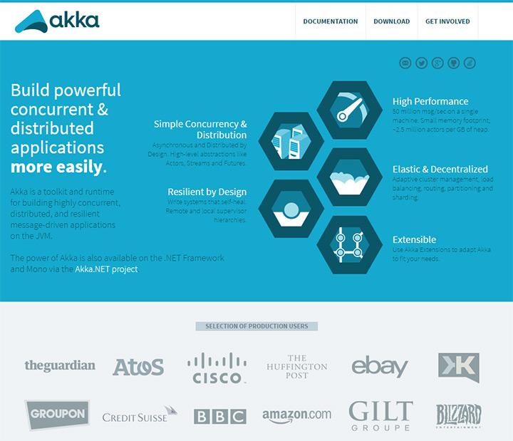 akka homepage
