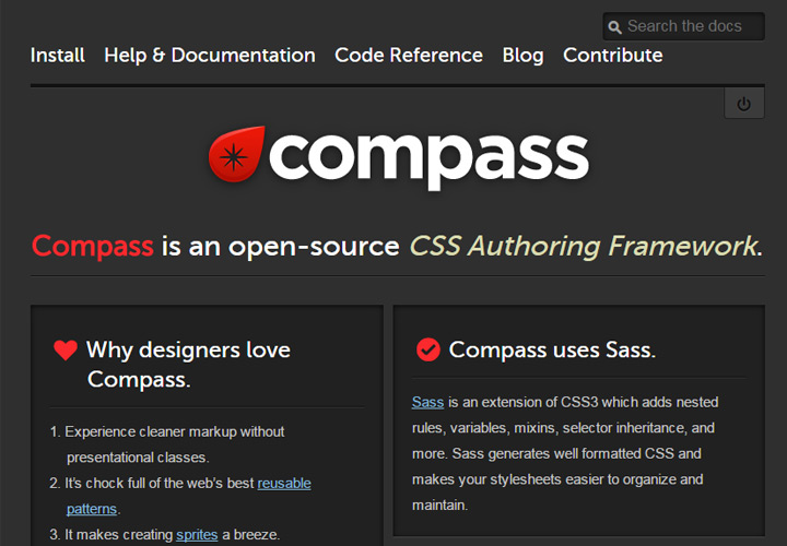 compass homepage