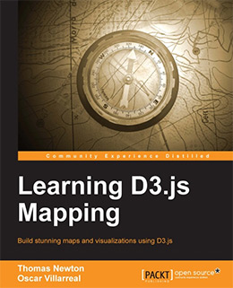 d3js mapping book
