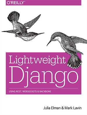 lightweight django book cover