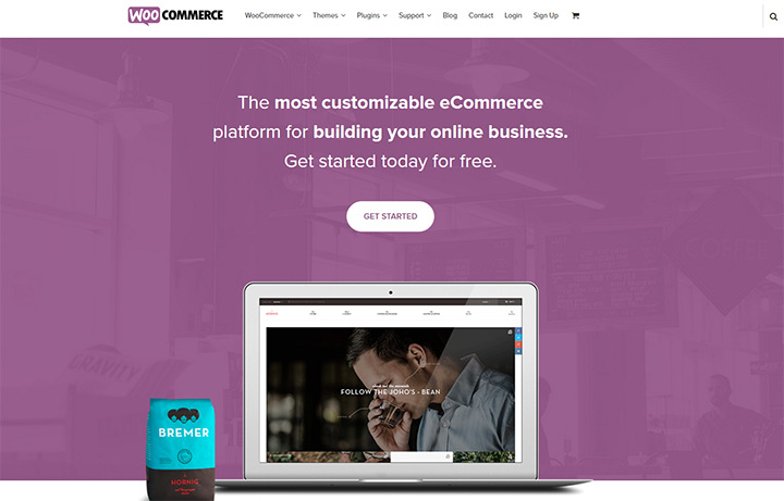 woocommerce homepage layout