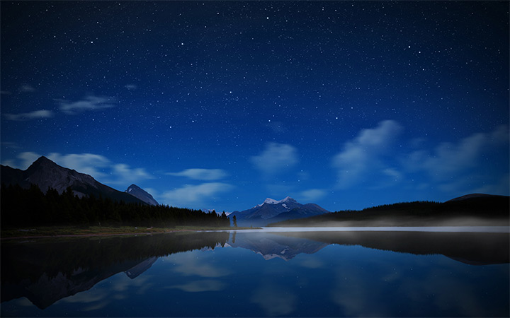 maligne lake alberta canada wallpaper