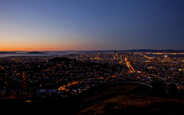 san francisco california twin peaks desktop