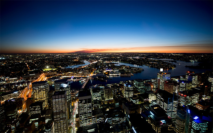 sydney australia photo dark nighttime wallpaper