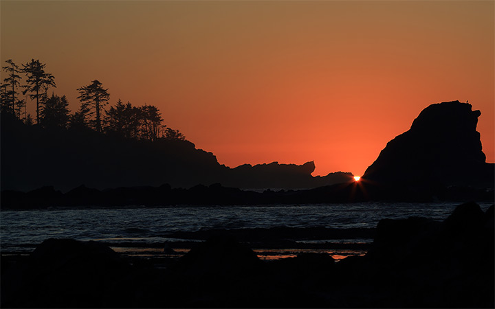 coos bay oregon sunset wallpaper