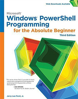 windows powershell absolute beginner