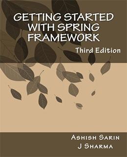 getting started spring framework