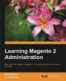 learning magento2 adminbook