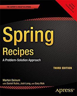 spring recipes book