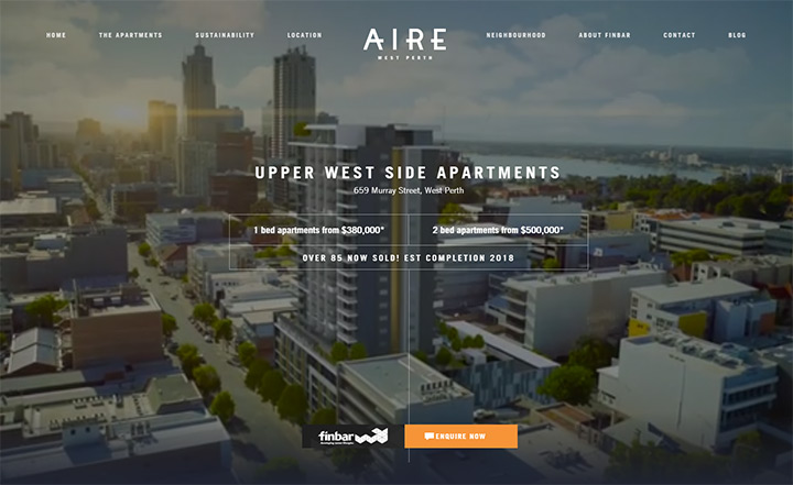 aire west perth