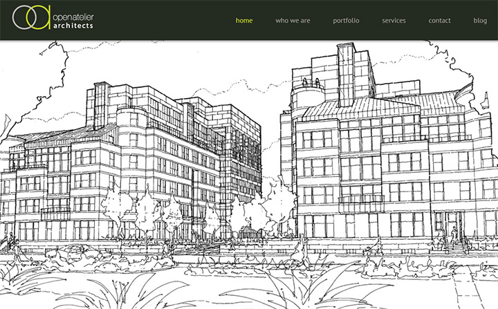 open atelier homepage