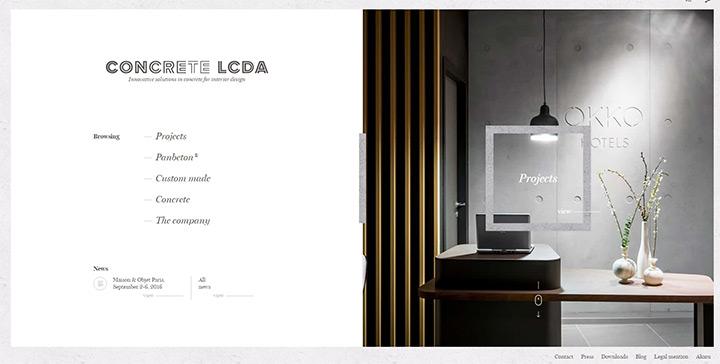 concrete lcda homepage