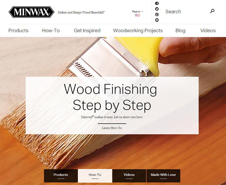 minwax homepage