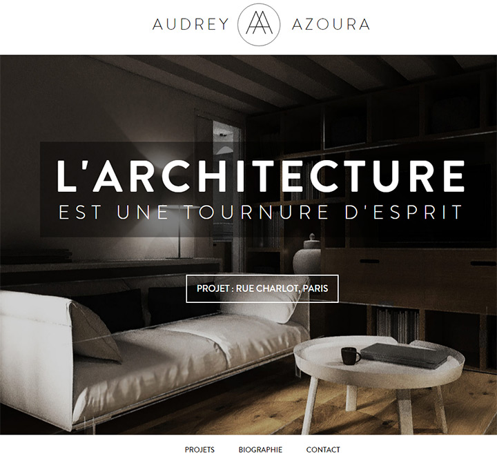 Architect Website Designs For Inspiration