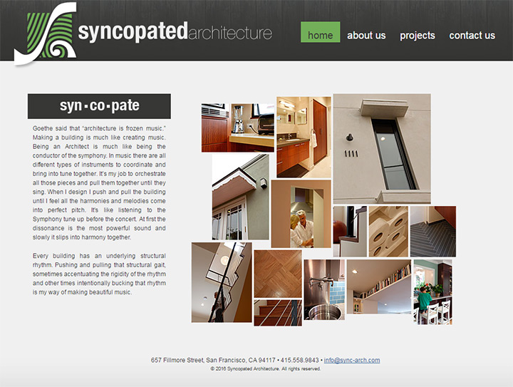 syncopated architects
