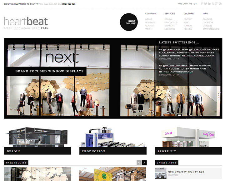 heartbeat homepage