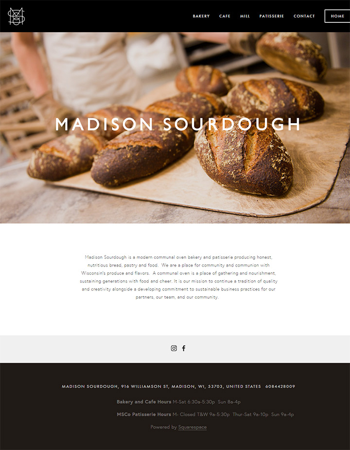 madison sourdough website