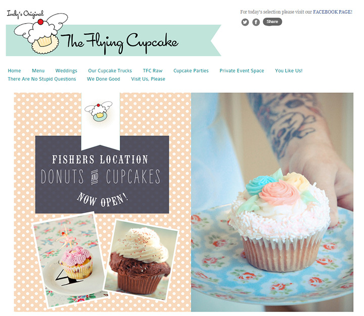 flying cupcake bakery