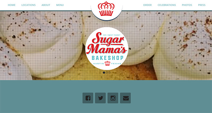 Sugar Design Group Is A Website: 100+ Bakery Websites For Web Design Inspiration