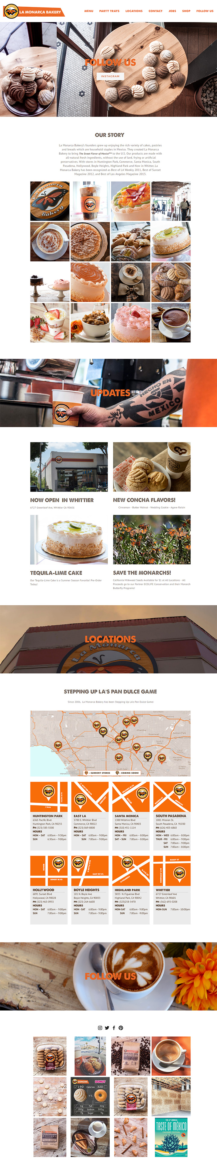 la monarca bakery
