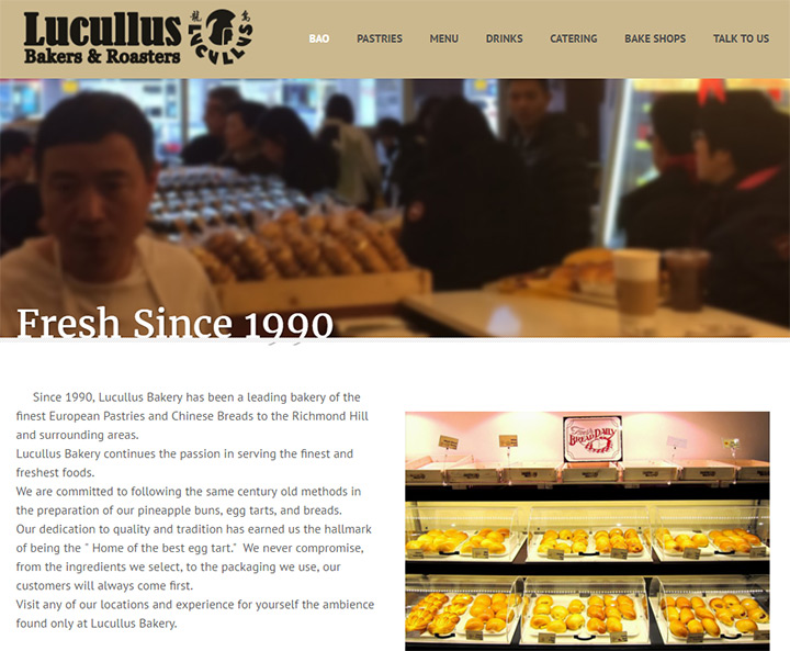 lucullus bakery