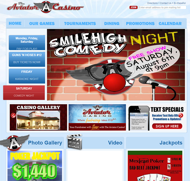 aviator casino