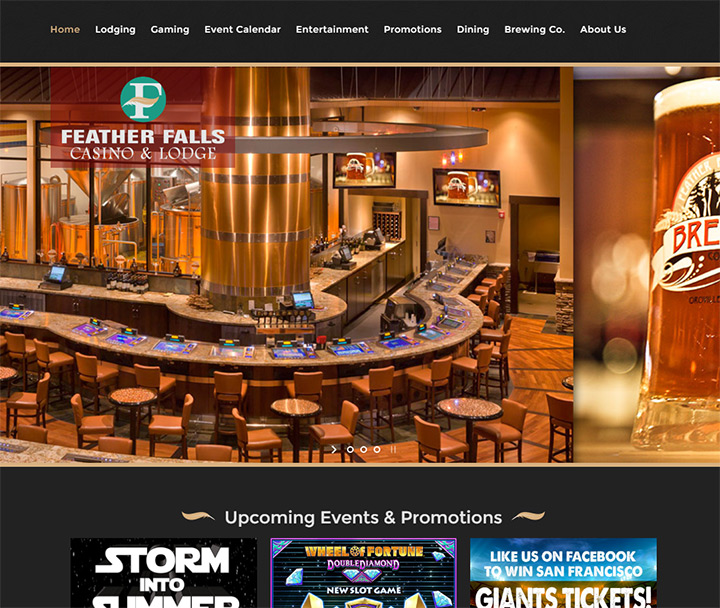 feather falls casino