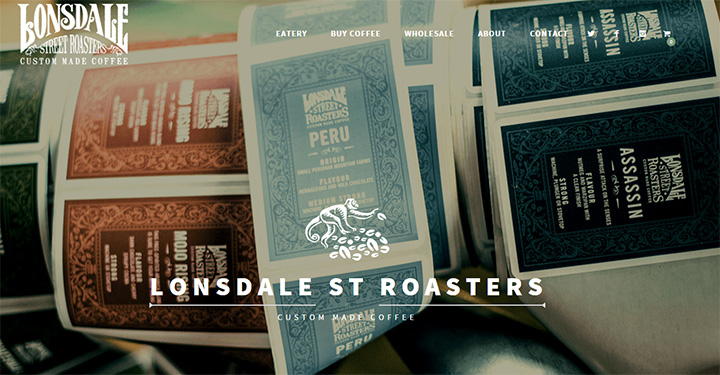 lonsdale street roasters website