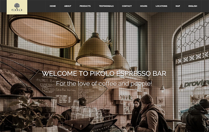 pikolo espresso bar website