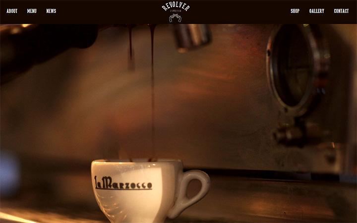 revolver espresso website