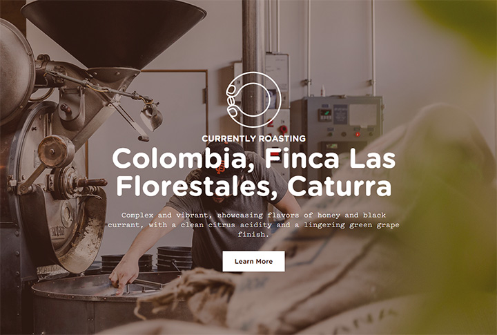 sightglass coffee website