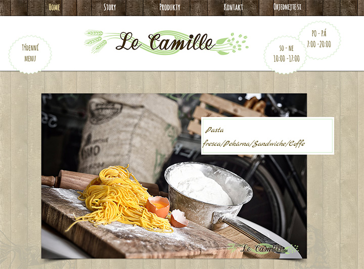le camille website