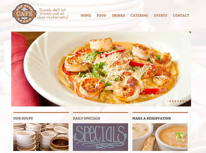 soup spoon homepage cafe