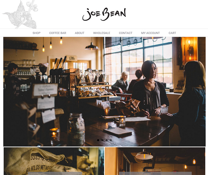 joe bean roasters website