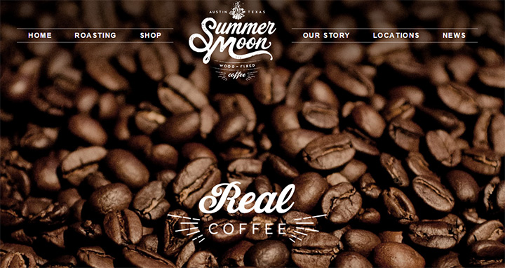 summer moon coffee website