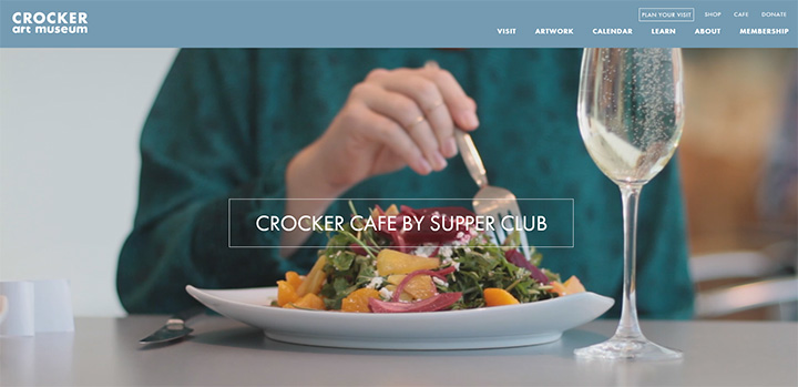 crocker art museum website