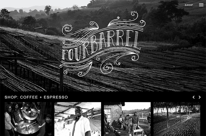 four barrel coffee website