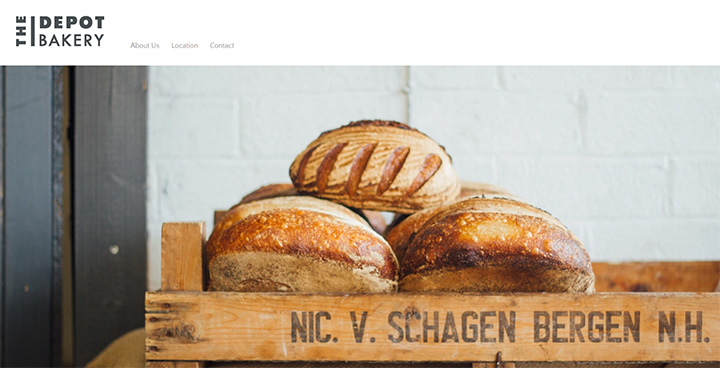the depot bakery website