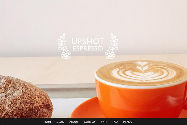 upshot espresso website