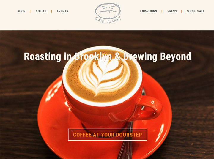 cafe grumpy website