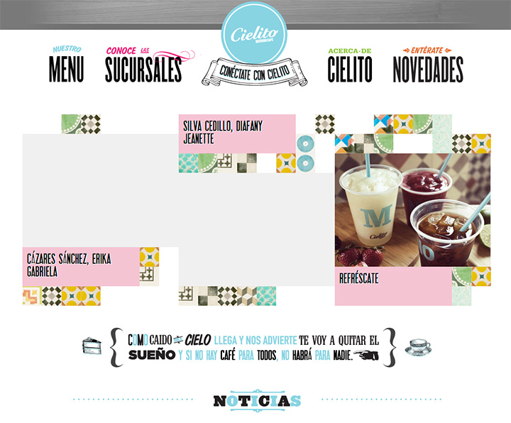 cielito querido cafe website