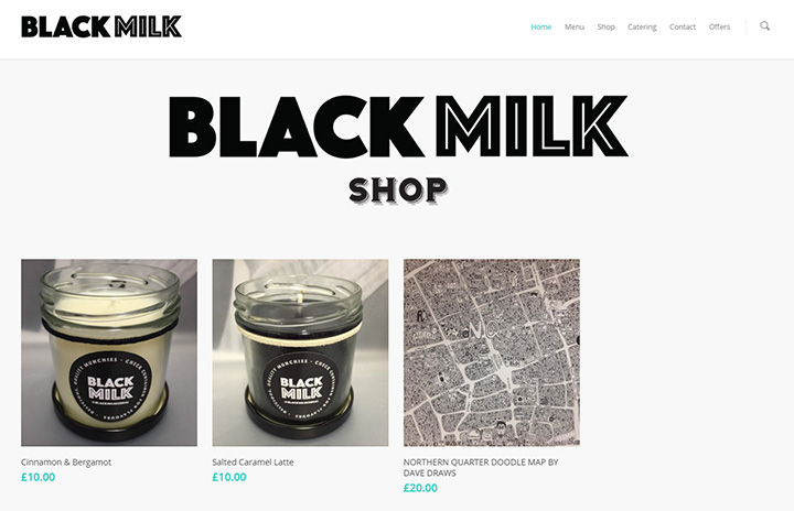 black milk website