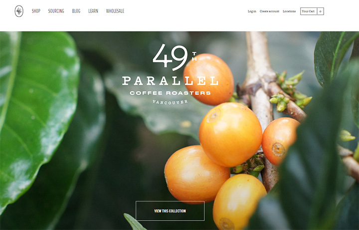 49th parallel website