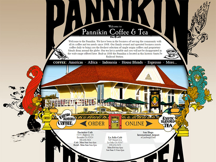 pannikin coffee website