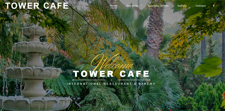 tower cafe website