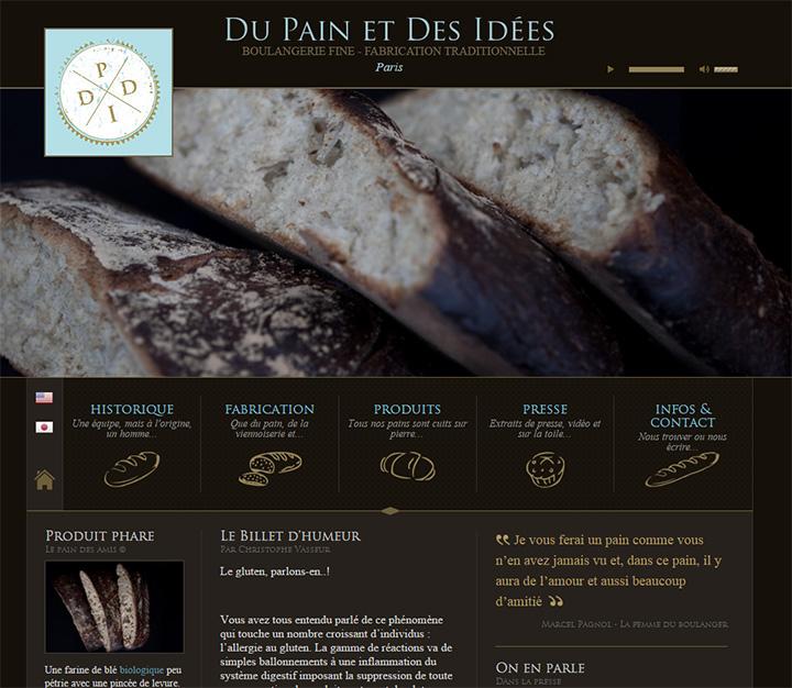 du pain et des website