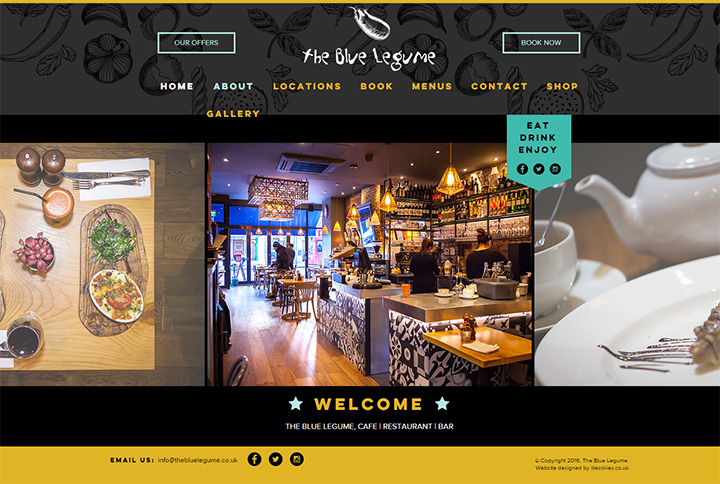 blue legume website