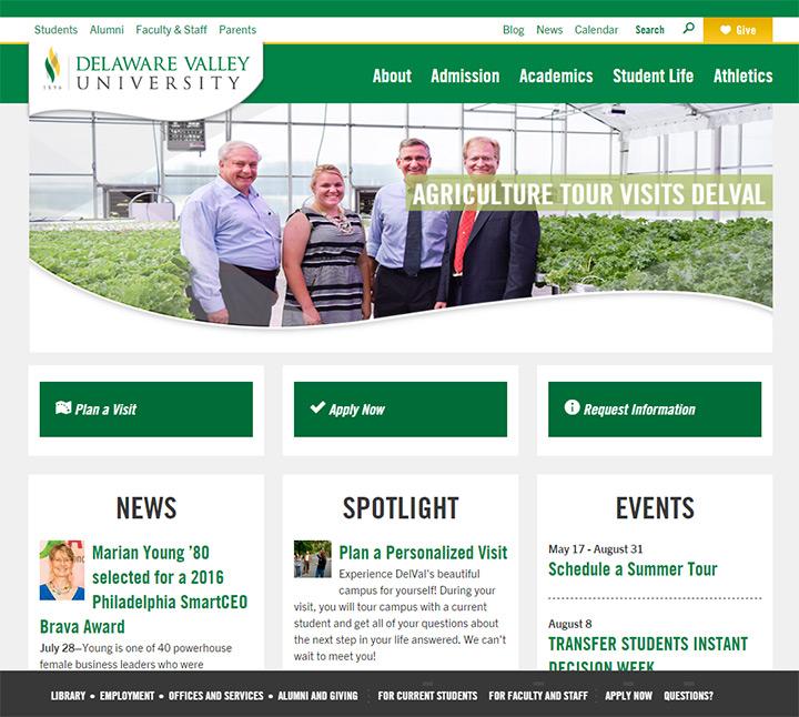 delaware university website