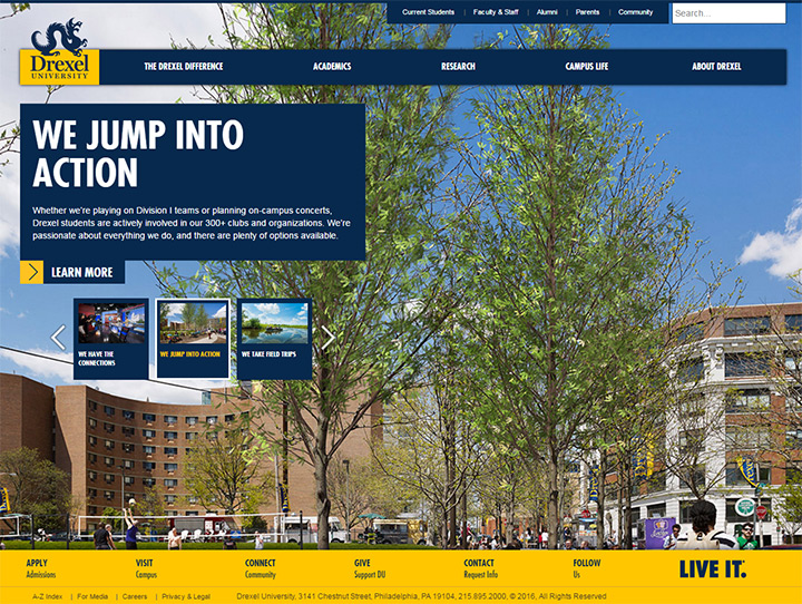 drexel university website