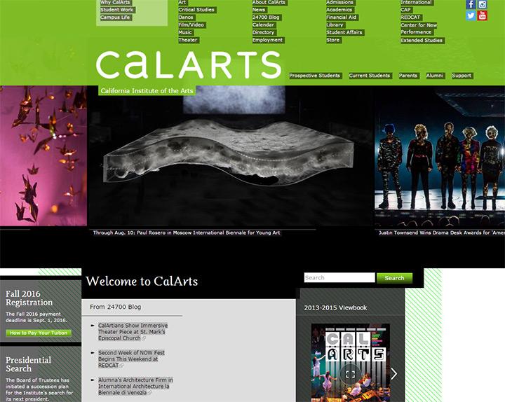 calarts website
